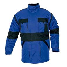 Cerva MAX téli kabát párnázott kék/fekete S