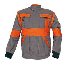 Cerva MAX kabát szürke / narancs 52