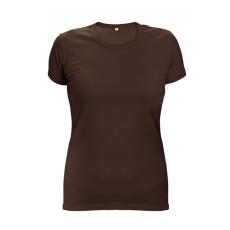 Cerva SURMA LADY női póló sötétbarna XL