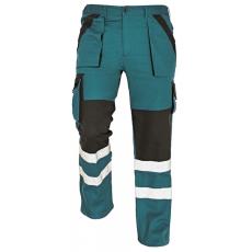 Cerva MAX REFLEX nadrág zöld/fekete 54