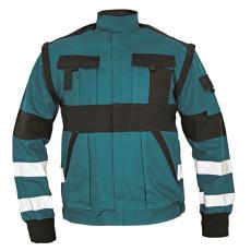 Cerva MAX REFLEX kabát zöld/fekete 56