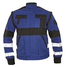 Cerva MAX REFLEX kabát kék/fekete 46