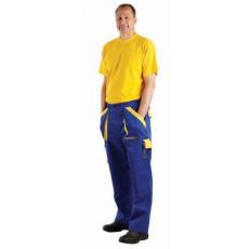Cerva MAX nadrág kék/sárga 52
