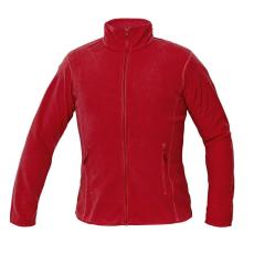 Cerva GOMTI női polár kabát piros L