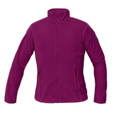 Cerva GOMTI női polár kabát sötét rózsaszín XS