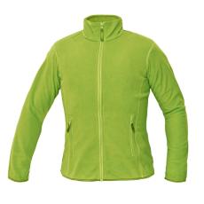 Cerva GOMTI női polár kabát zöldcitrom M