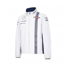 Williams Martini Racing férfi kabát Softshell white Team 2016 - M