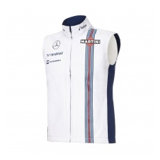 Williams Martini Racing női férfi mellény Team White 2016 - XL