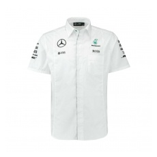 Branded Mercedes AMG Petronas férfi ing white Team F1 2016 - XL