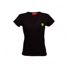 Branded Ferrari női póló V-neck black F1 Team 2016 - S