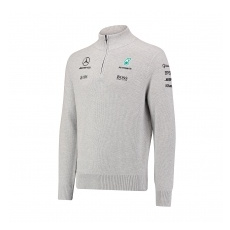 Branded Mercedes AMG Petronas pulóver Zipper F1 Team 2017 - XL