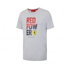 Branded Ferrari férfi póló Red Power grey F1 Team 2016 - M