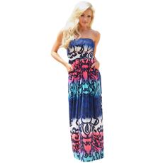 Multi-színes boho ruha