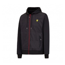 Branded Ferrari férfi pulóver Full Zip black F1 Team 2016 - M