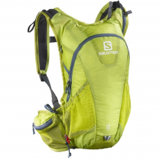 Salomon Bag Agile 12 Set Futó hátizsák,övtáska D (SA-L39290100-q_100-Lime Punch)