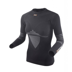 X-Bionic Energizer Mk2 shirt roundneck women - čierno-číra - XS