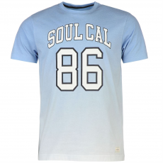 Soul Cal Póló SoulCal Deluxe Gradient fér.
