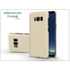 Nillkin Samsung G955F Galaxy S8 Plus hátlap képernyővédő fóliával - Nillkin Frosted Shield - gold