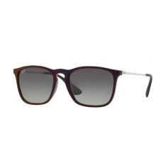 Ray-Ban RB4187 631611 CHRIS BLACK SP RED GREY GRADIENT DARK GREY napszemüveg