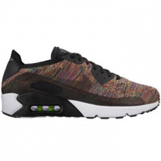 Nike Air Max 90 Ultra 2.0 Flyknit női sportcipő, Black/Anthracite, 38.5 (881109-002-7.5)