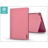 Devia Apple iPad 9.7 (2017) védőtok (Smart Case) on/off funkcióval - Devia Flax Flip - pink