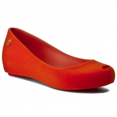 Melissa Balerina MELISSA - Ultragirl Maxi Flocado 32200 Flocked Orange 51604