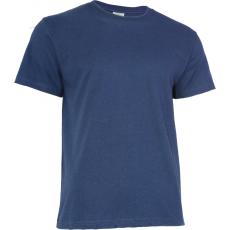 KEYA 150 kereknyakú póló, sötétkék (Keya kereknyakú promóciós unisex póló, 150g/m2, 100% gyűrü fonásu)