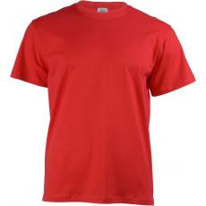 KEYA 150 kereknyakú póló, piros (Keya kereknyakú promóciós unisex póló, 150g/m2, 100% gyűrü fonásu)