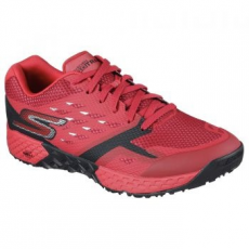Skechers Go Train-Endurance férfi sportcipő, Red/Black, 44 (54122-RDBK-44)