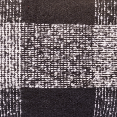 Fekete-fehér kockás sál