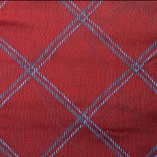 Dupla kockás sál, piros
