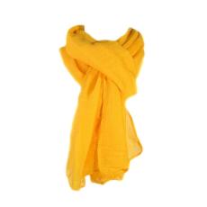 Színes fuvallat stóla, sárga