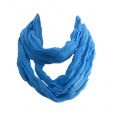 Színes, vékony stóla, kék