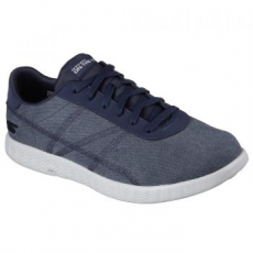 Skechers On The Go Glide-Eaze férfi sportcipő, Navy/Grey, 42.5 (53775-NVGY-42.5)