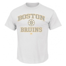 Boston Bruins férfi póló Color Pop White - XL