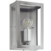 EGLO Kültéri fali lámpa E27 1X60W IP44 nemesacél/üveg - Alamonte EGLO