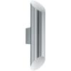 EGLO Kültéri fali lámpa LED-es 2X3,7W IP44 nemesacél/fehér - Agolada EGLO