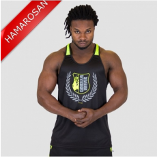 LEXINGTON TANK TOP - BLACK/NEON LIME (BLACK/NEON LIME) [S]