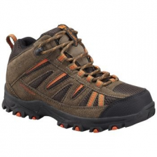 Columbia Youth Pisgah Peak Mid Waterproof gyerek túracipő, Mud, 38 (1650251-p-255-6)