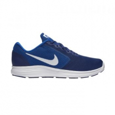 Nike Revolution 3 férfi futócipő, Royal Blue/White, 42.5 (819300-407-9)