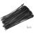 Somogyi 200x3,5mm fekete vezetékkötegelő 50 db