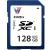 V7 128GB SDXC I Class 10 memória kártya
