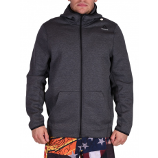 Reebok QUIK COTTON FULL ZIP HOODY CROSS PULÓVER