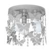 Decoland Gyerek mennyezeti lámpa ELZA butterflies 3xE27/60W/230V szürke