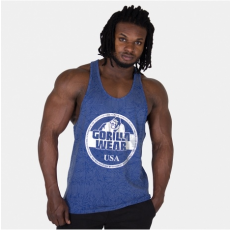 MILL VALLEY TANK TOP - ROYAL BLUE/SILVER (ROYAL BLUE) [5XL]