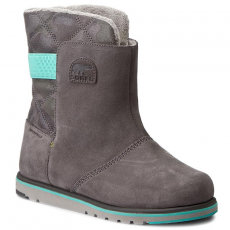 SOREL Buty SOREL - Youth Rylee Camo NY1900-052 Quarry/Dolphin