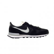 Nike Internationalist férfi sportcipő, Black/Metallic Silver, 46 (828041-003-12)