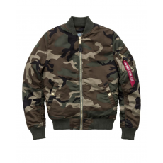 Alpha Industries MA-1 VF PM Női - wood camo