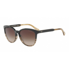 Emporio Armani EA4101 556713 BROWN/TR STRIPED BEIGE BROWN GRADIENT napszemüveg