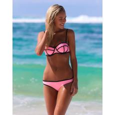 Neoprene Light Pink Bikini-Small